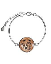 Staffy Heads 1506L Metallic Circle Bracelet thumbnail