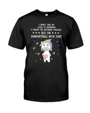 Unicorn admit 1511 Classic T-Shirt thumbnail