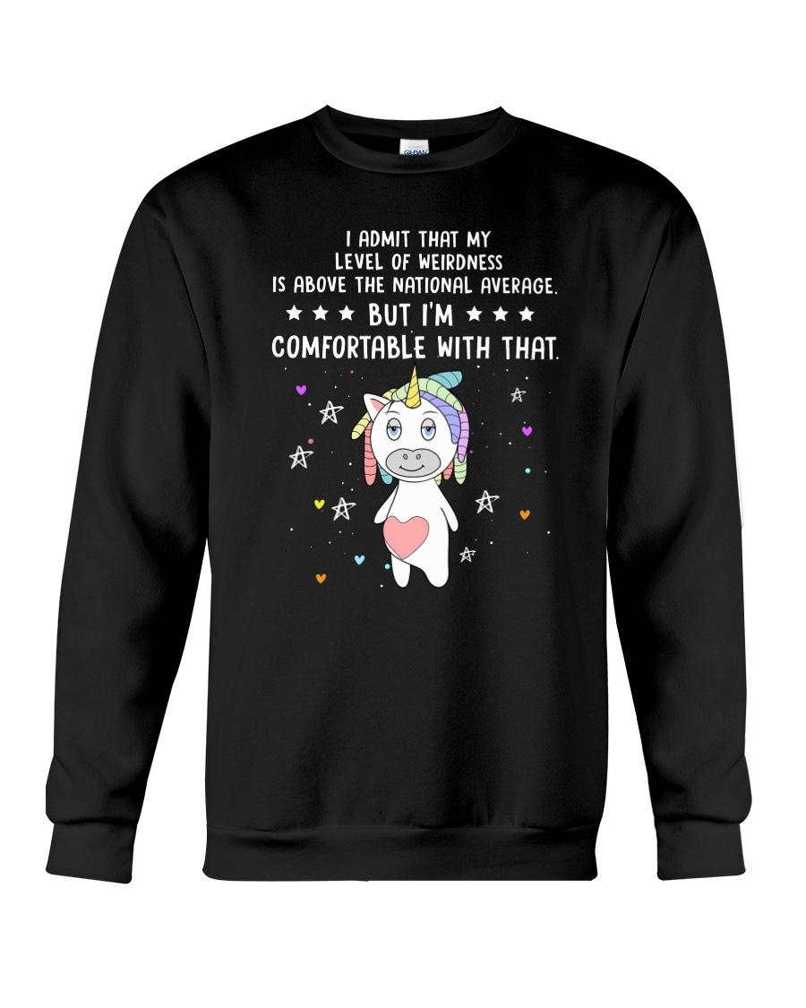 Unicorn admit 1511 Crewneck Sweatshirt