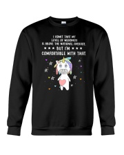 Unicorn admit 1511 Crewneck Sweatshirt front
