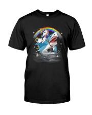 Unicorn Shark  Classic T-Shirt front