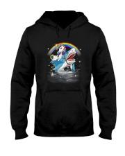 Unicorn Shark  Hooded Sweatshirt thumbnail