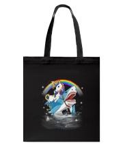 Unicorn Shark  Tote Bag thumbnail