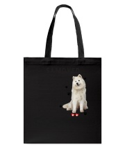 Samoyed - Leave paw prints on your heart 1906P Tote Bag thumbnail