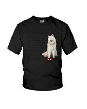 Samoyed - Leave paw prints on your heart 1906P Youth T-Shirt thumbnail