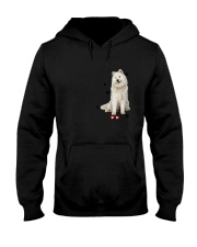 Samoyed - Leave paw prints on your heart 1906P Hooded Sweatshirt thumbnail