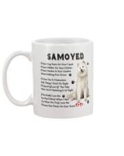 Samoyed - Leave paw prints on your heart 1906P Mug back