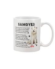 Samoyed - Leave paw prints on your heart 1906P Mug front
