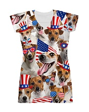 Jack Russell Terrier - Independence Day 506D All-over Dress thumbnail