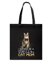 Stay At Home Cat Home Tote Bag thumbnail