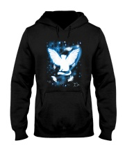 Beautiful Light Cat Hooded Sweatshirt thumbnail