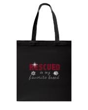 Rescued Bling Tote Bag thumbnail