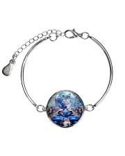Wolf Great 1406 Metallic Circle Bracelet thumbnail