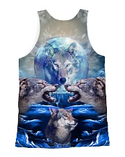 Wolf Great 1406 All-over Unisex Tank back