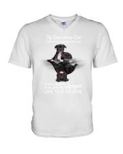 Staffy - Turn back the clock 1806P V-Neck T-Shirt thumbnail