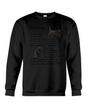 Black Cat Remembering Crewneck Sweatshirt thumbnail