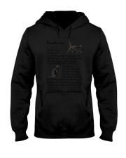 Black Cat Remembering Hooded Sweatshirt thumbnail