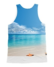 Cat Sea All-over Unisex Tank back