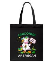 Unicorn vegan 2010 Tote Bag thumbnail