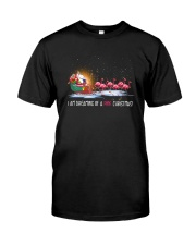 Unicorn Pink Christmas 1109 Classic T-Shirt thumbnail