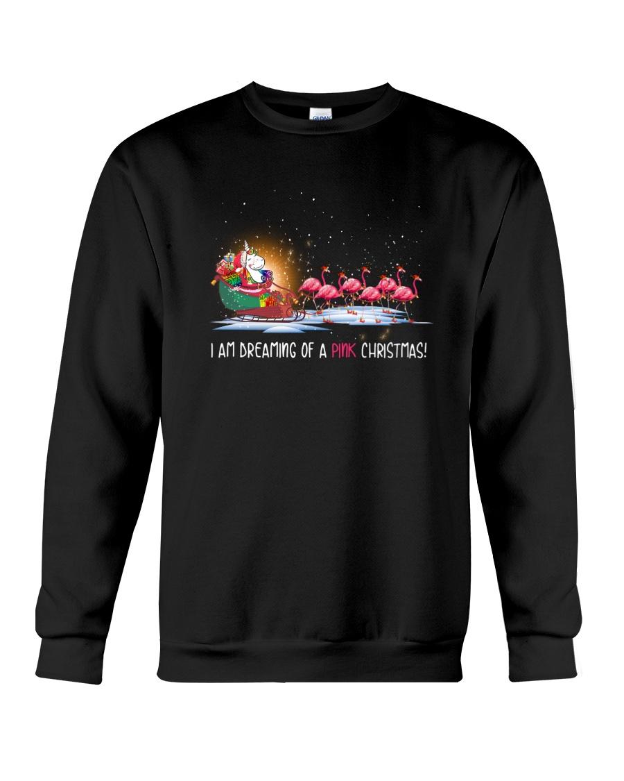 Unicorn Pink Christmas 1109 Crewneck Sweatshirt