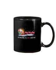 Unicorn Pink Christmas 1109 Mug thumbnail