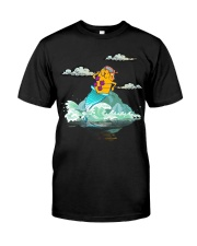 Cat Mermaid 1806 Classic T-Shirt front