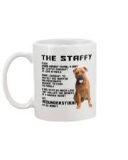 The Staffy 2106L Mug back