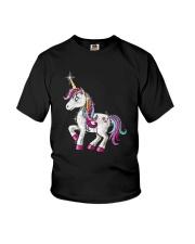 Unicorn Bling Youth T-Shirt thumbnail
