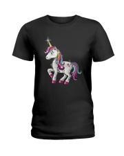 Unicorn Bling Ladies T-Shirt thumbnail
