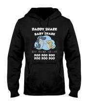 Daddy Shark And Baby Shark Hooded Sweatshirt thumbnail