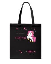 Unicorn I love you 1806 Tote Bag thumbnail