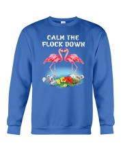 Calm Flock Down Crewneck Sweatshirt front