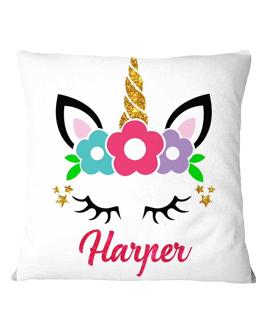 Unicorn harper Square Pillowcase