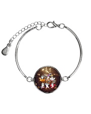 Unicorn Halloween Metallic Circle Bracelet thumbnail