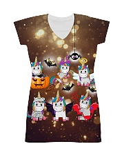 Unicorn Halloween All-over Dress thumbnail