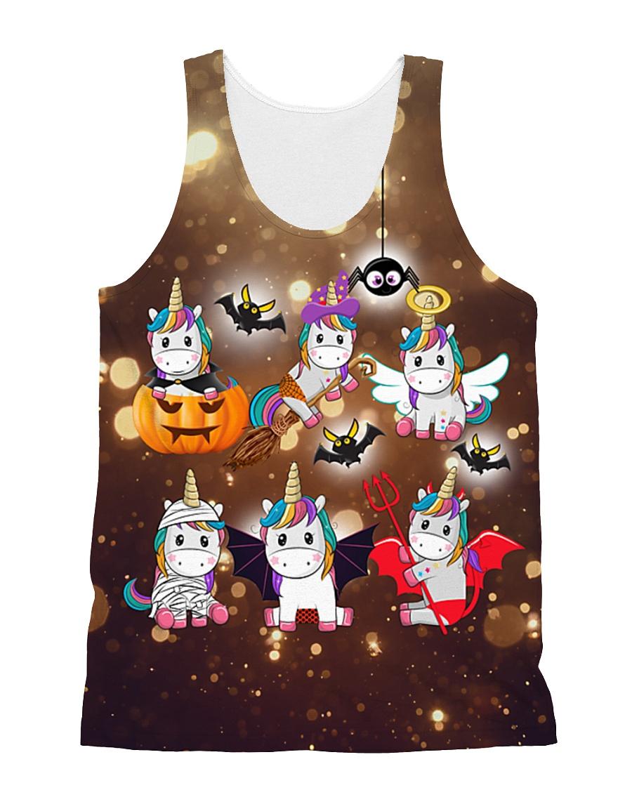 Unicorn Halloween All-over Unisex Tank