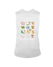 Vegan - Talk to animal 1906P Sleeveless Tee thumbnail