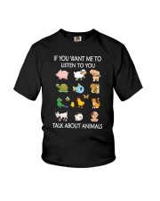 Vegan - Talk to animal 1906P Youth T-Shirt thumbnail