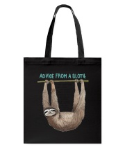 Advice from a sloth 1906P Tote Bag thumbnail