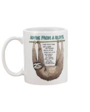 Advice from a sloth 1906P Mug back