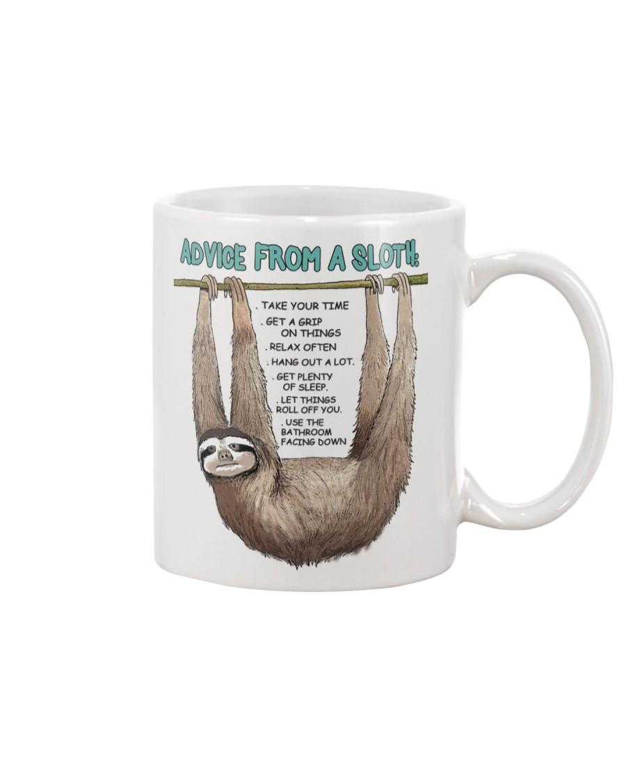 Advice from a sloth 1906P Mug