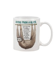 Advice from a sloth 1906P Mug front