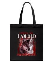Wolf Reason Tote Bag thumbnail