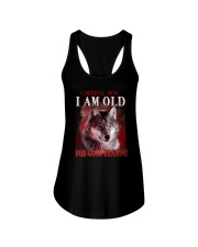 Wolf Reason Ladies Flowy Tank thumbnail