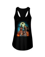 Dachshund Halloween Ladies Flowy Tank tile