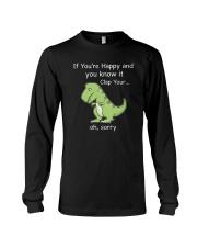 T-rex Happy 1806 Long Sleeve Tee thumbnail
