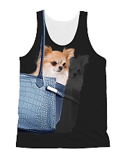Chihuahua In Bag 1406 All-over Unisex Tank front