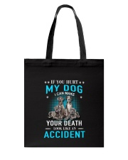 Great Dane Accident Tote Bag thumbnail