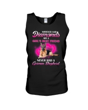 German Shepherd Diamonds 2106 Unisex Tank thumbnail